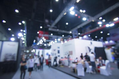 Picture of a trade show