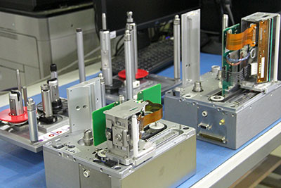 Lean manufacturing electro mechanical assembly